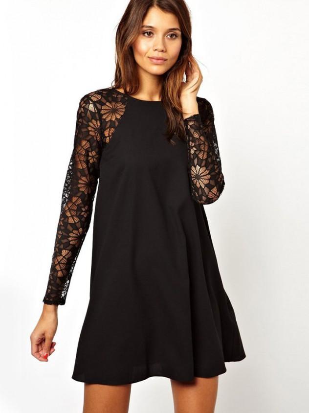long sleeved dress