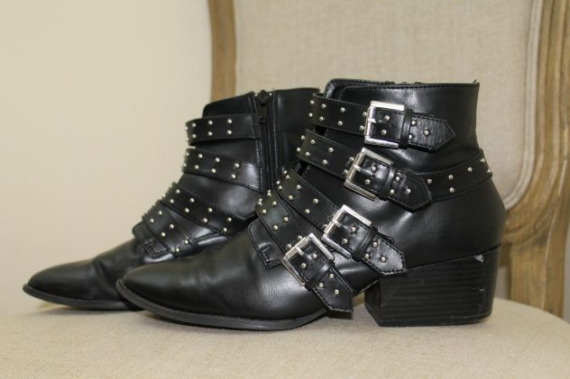 The Face Of Style: January Favorites - Studded Boots