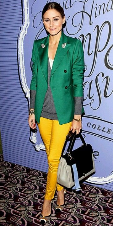 Outfit Inspiration - Bright Yellow Trousers - The Face Of Style