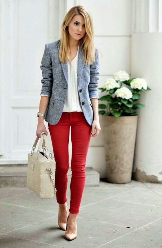 Outfit Inspiration - Good Red Jeans - The Face Of Style