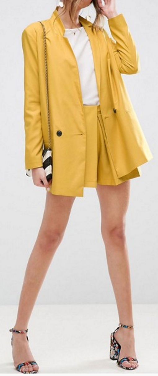 5 Pieces to Brighten Up Your Wardrobe - ASOS Yellow Co-Ord- The Face Of Style