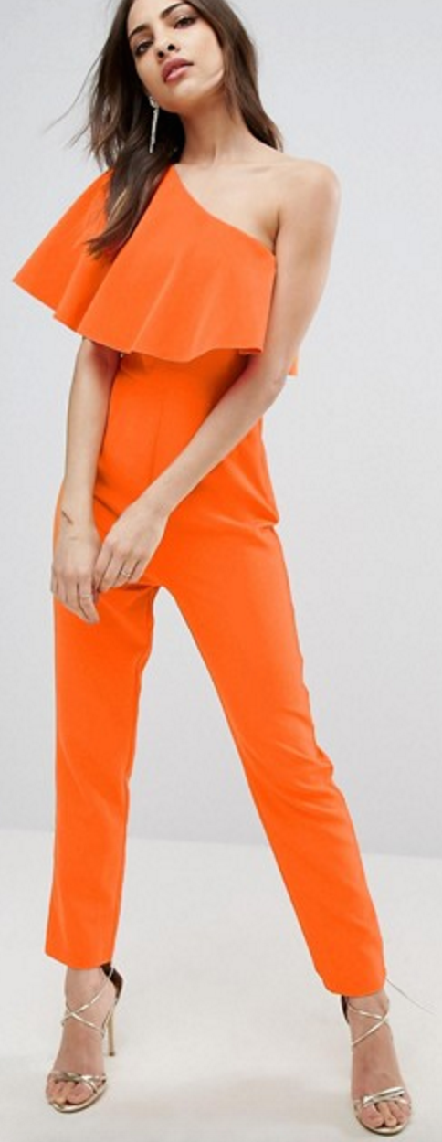 5 Pieces to Brighten Up Your Wardrobe - ASOS Orange Jumpsuit- The Face Of Style