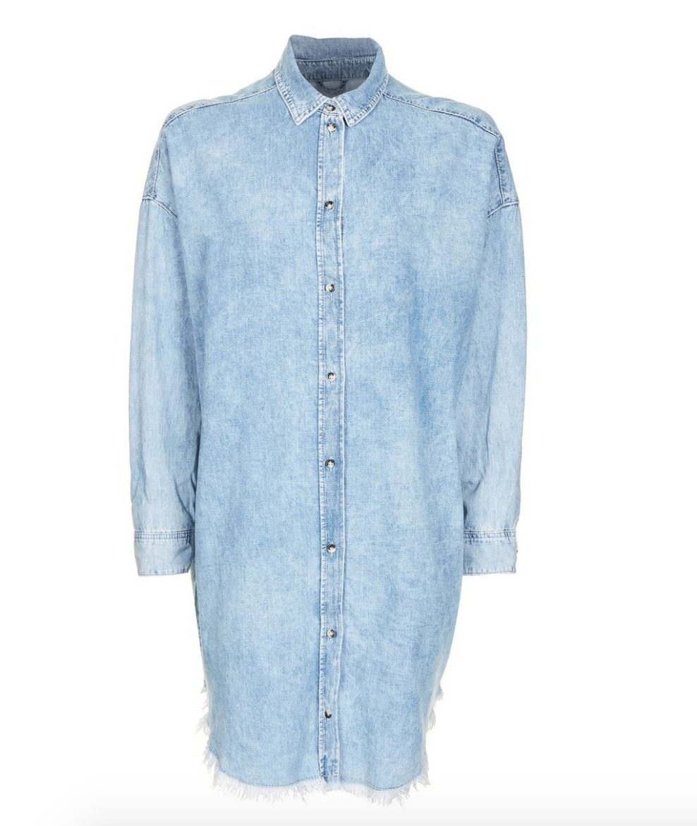The Face Of Style: 20 Best Picks From Nordstrom Half Yearly Sale - Topshop Denim Dress