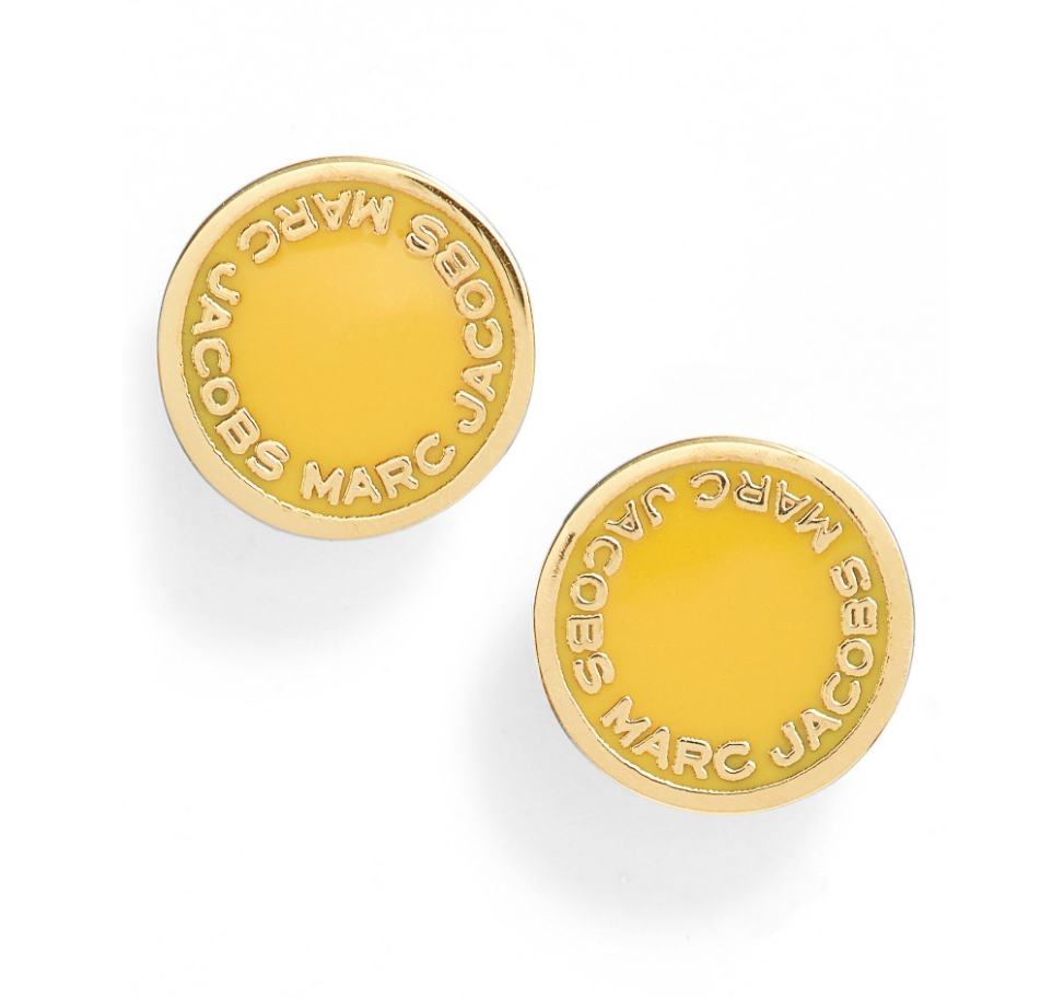 The Face Of Style: 20 Best Picks From Nordstrom Half Yearly Sale - Yellow Marc Jacobs Studs
