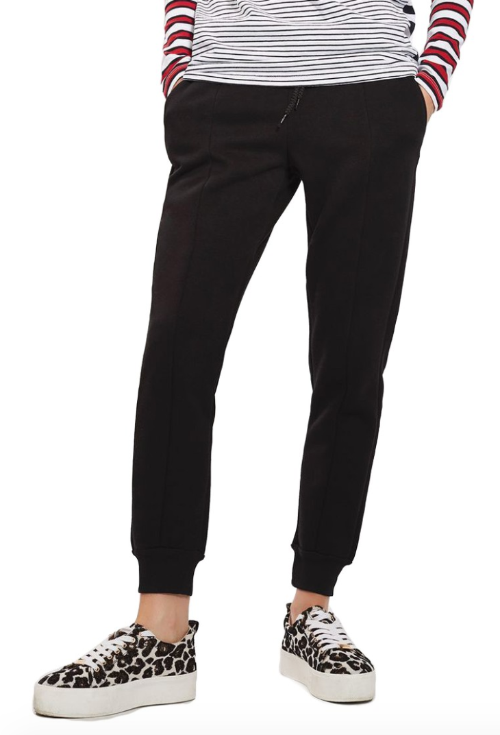 The Face Of Style: 20 Best Picks From Nordstrom Half Yearly Sale - Topshop Black Jogger Pants