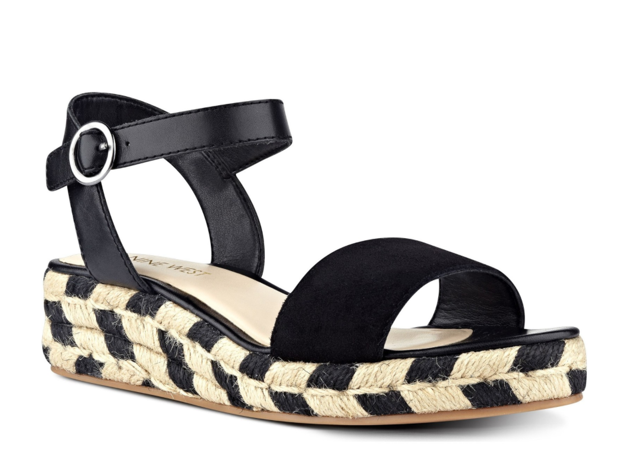 The Face Of Style: 20 Best Picks From Nordstrom Half Yearly Sale - Nine West Wedge Espadrille Sandals
