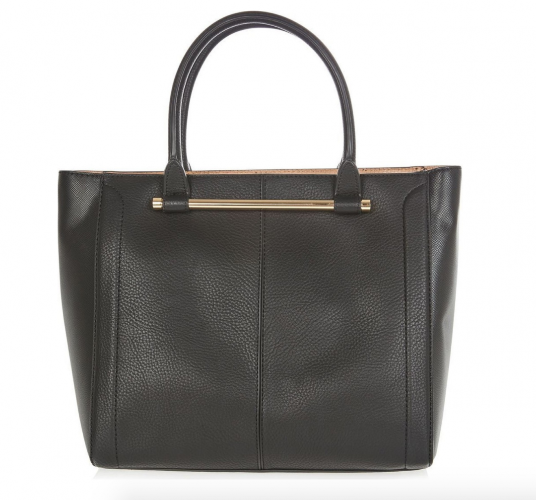 The Face Of Style: 20 Best Picks From Nordstrom Half Yearly Sale - Black Topshop Tote