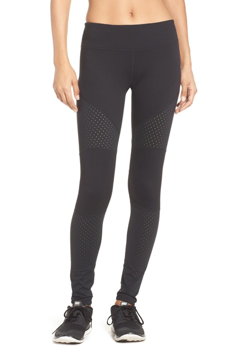 The Face Of Style: 20 Best Picks From Nordstrom Half Yearly Sale - Zella Black Leggings