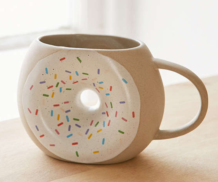 The Face Of Style: Father's Day Gift Guide Under $60 - Donut Mug