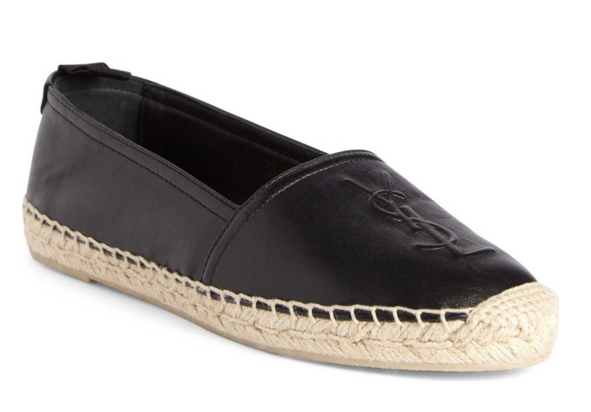 The Face Of Style: Wishlist Wednesday - Saint Laurent Logo Espadrille
