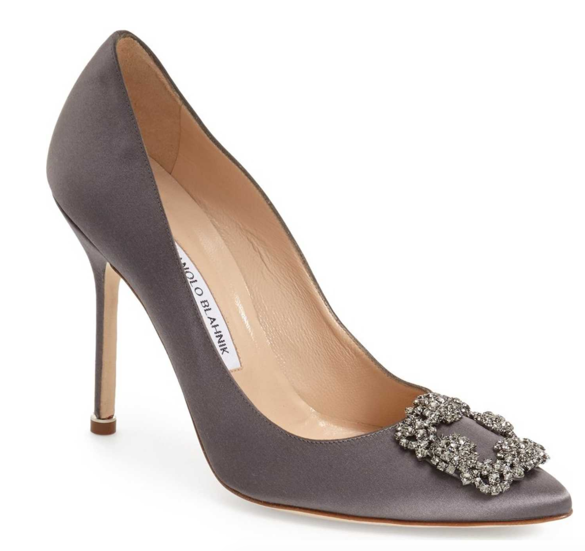 The Face Of Style: Wishlist Wednesday - Manolo Blahnik 'Hangisi' Jewel Pump
