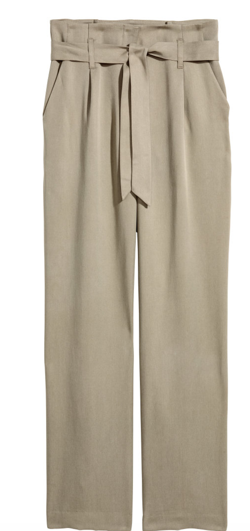 Trend Tuesday: Paper Bag Waist - H&M - The Face Of Style