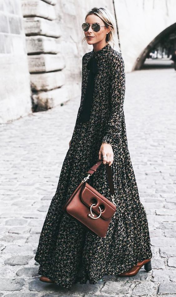 Transitional Pieces From Summer To Fall - Maxi Dress - The Face Of Style