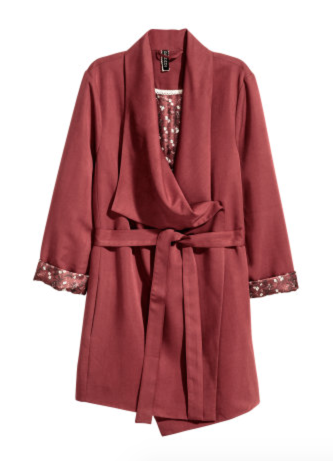 All The Red Things You Need In Your Wardrobe - H&M Drapey Jacket - The Face Of Style