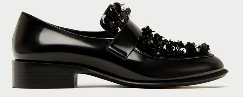 6 Must Have Shoes For Fall - Zara Loafers With Floral Detail - The Face Of Style