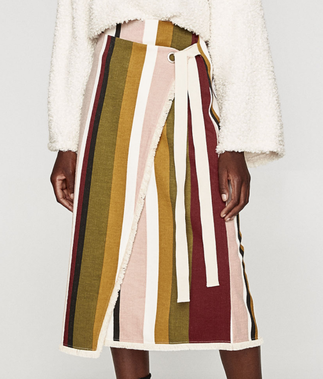 Fall 2017 Trends: Prints - Vertical Stripes - The Face Of Style