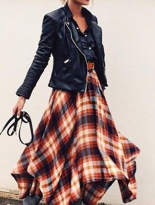 Transitional Pieces From Summer To Fall - Midi Skirt - The Face Of Style