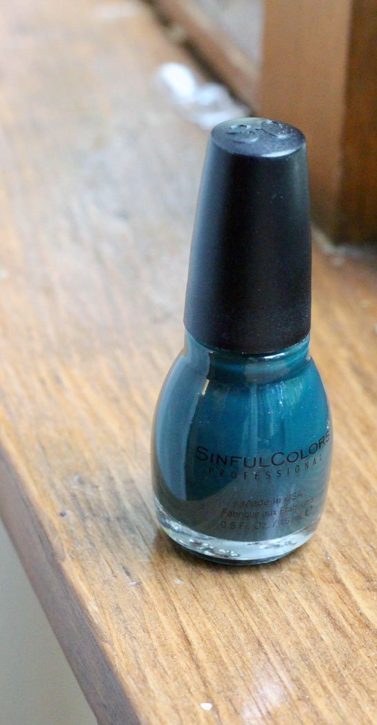 Sinful Colors Nail Polish In Calypso - September Favorites - How She Styles