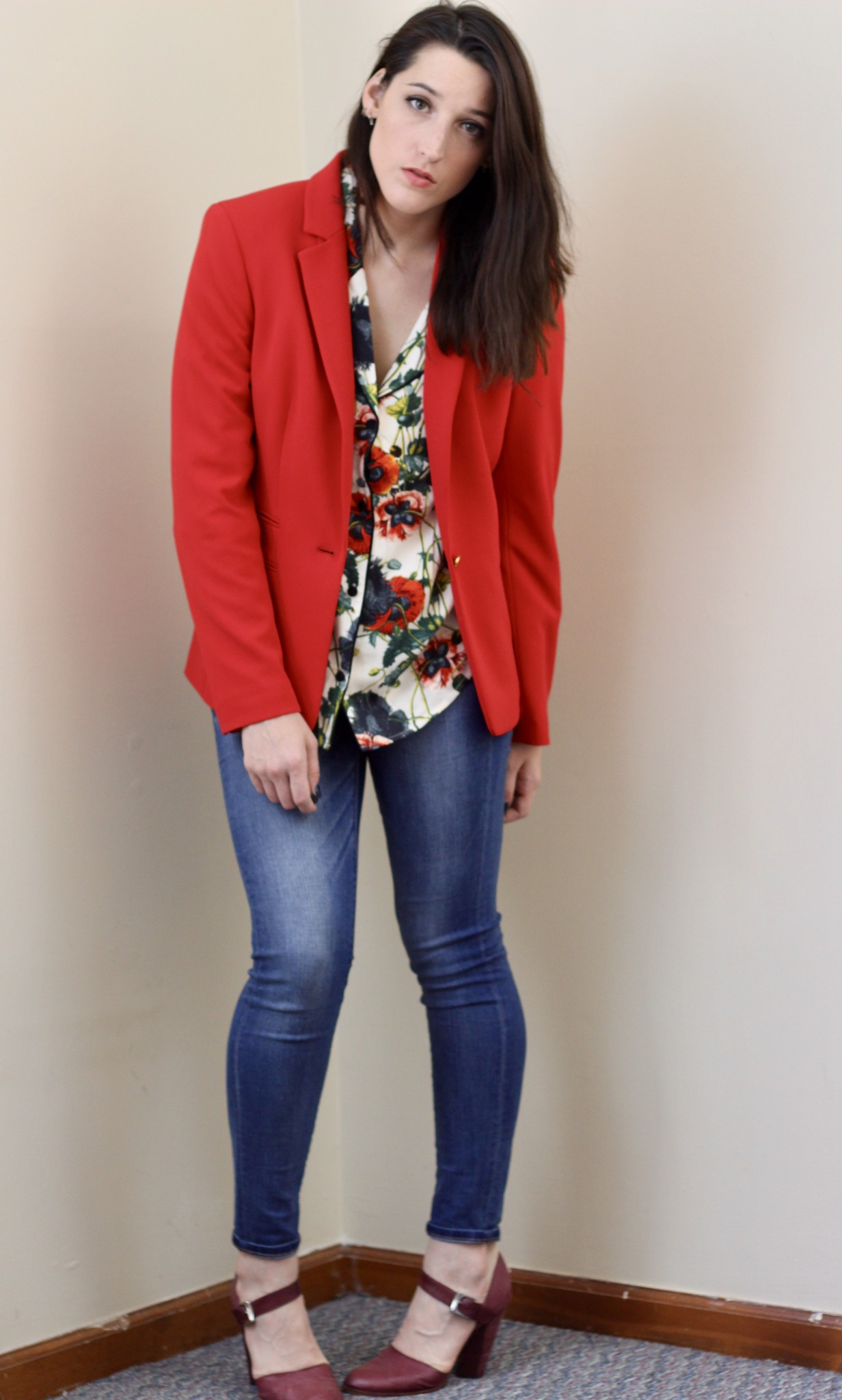 Red All Over - How To Style Red - How She Styles