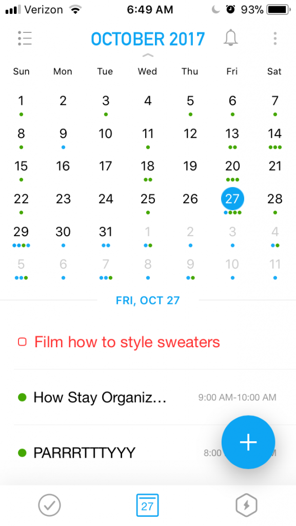 How I Stay Organized When Life Gets Busy