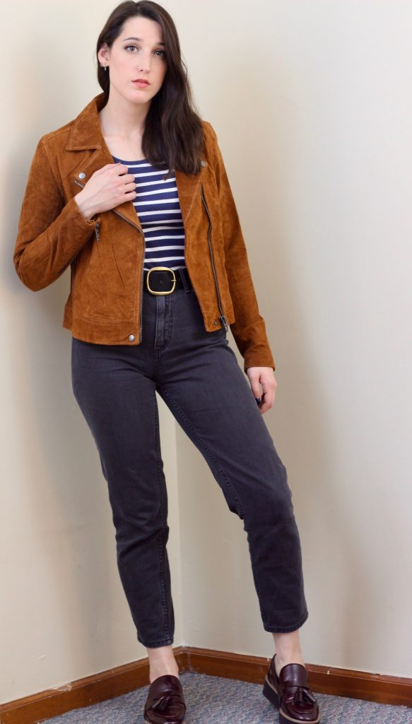 The Perfect Fall Motorcycle Jacket - How She Styles