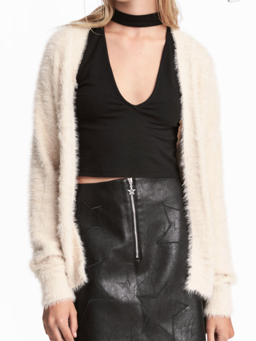 Extra Fuzzy Sweater - H&M - How She Styles