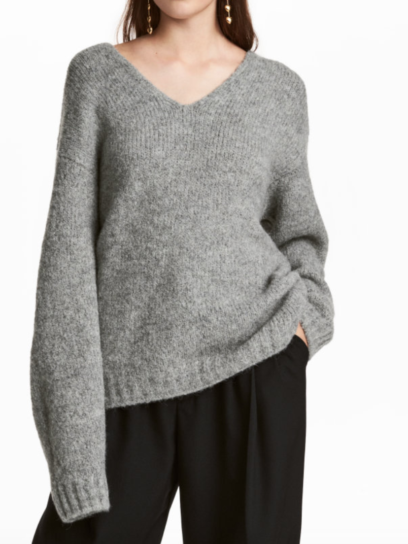 Oversized Sweater - H&M - How She Styles