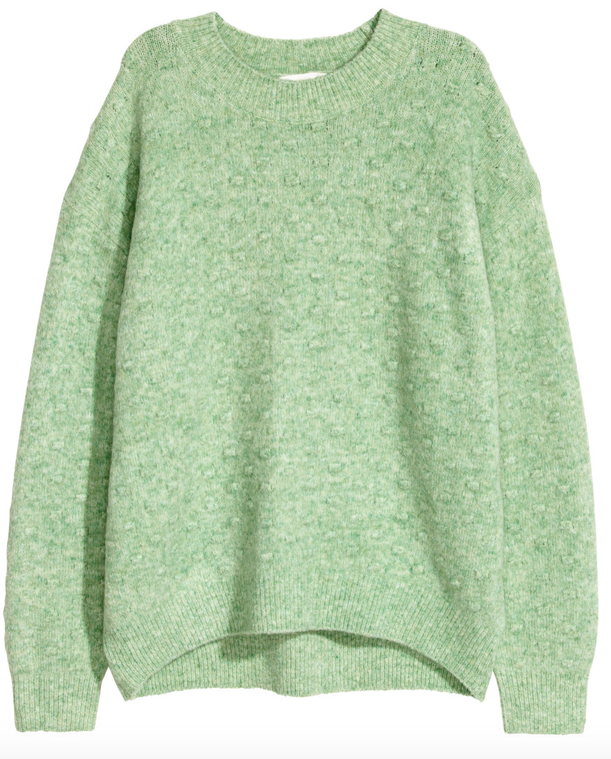 Pop Of Color Sweater - H&M - How She Styles