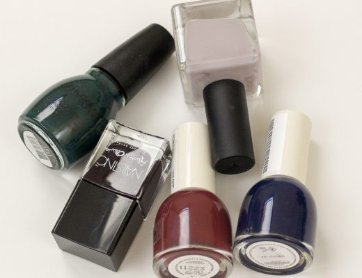 Top Five Nail Polishes That Aren't Black - How She Styles