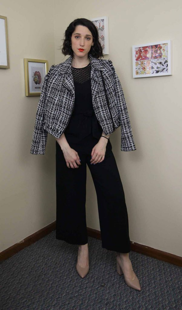 How She Styles - Styling the Jumpsuit with a jacket