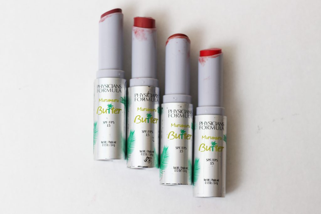 Physicians Formula Murumuru Butter Lipcreams