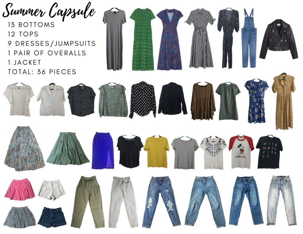 How She Styles Summer 2020 Capsule Wardrobe